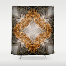 Delusions Of Grandeur II - Vintage Inspired Collection Shower Curtain