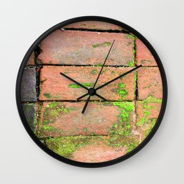 Bricks Walkway Wall Clock