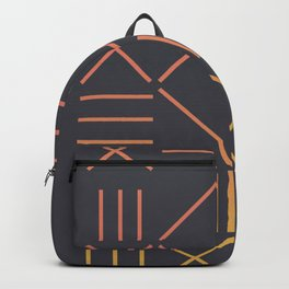 Geometric Shapes 09 Gradient Backpack