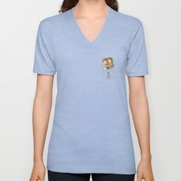 Pocket Larry 2 Unisex V-Neck