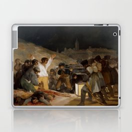 El 3 de mayo en Madrid o ''Los fusilamientos'' - Goya Laptop & iPad Skin
