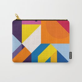 Abstract modern geometric background. Composition 9 Carry-All Pouch
