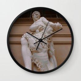 The Strength of Hercules Wall Clock