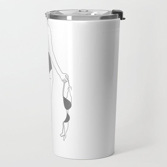 Brassiere Breakup Travel Mug