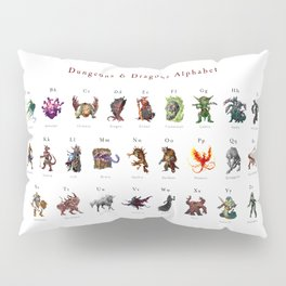 Monster Alphabet Pillow Sham