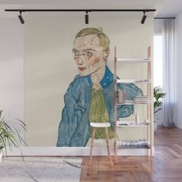 "Egon Schiele ""One-Year Volunteer Lance-Corporal"" Wall Mural"