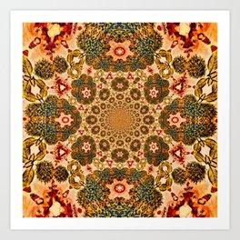 Michael Robinson Mandala Art Print
