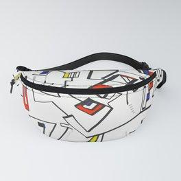 Geometric Mondrian Fanny Pack