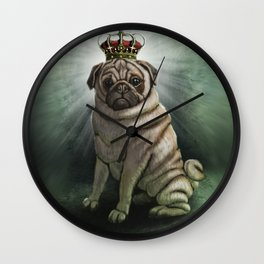 The Queen Wall Clock