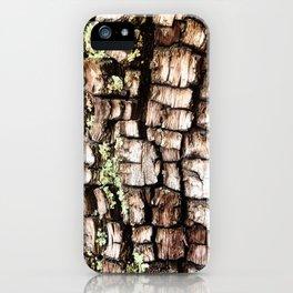 Ancient Juniper Bark iPhone Case