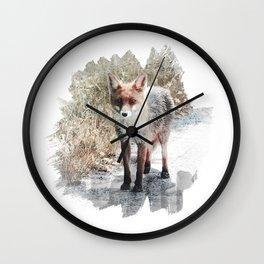 How I met a Fox Wall Clock