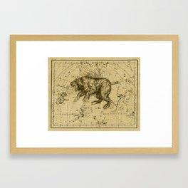 American Gods constellation poster Framed Art Print