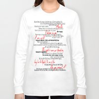 grantaire Long Sleeve T-shirts featuring Grantaire by Jessica Latham