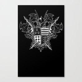 Doom Crest Canvas Print