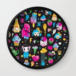 my kawaii world Wall Clock