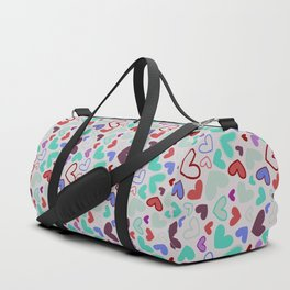 Heart and colors Duffle Bag
