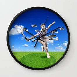 Let the games begin! Wall Clock