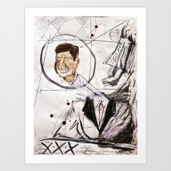 Kennedy Art Print