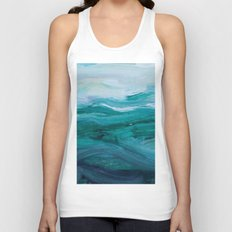 Private Beach Unisex Tank Top