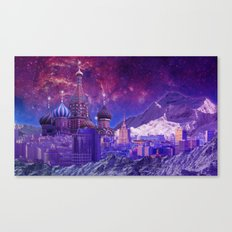 Hipsterland - Moscow Canvas Print
