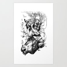 Destructive Creation Art Print