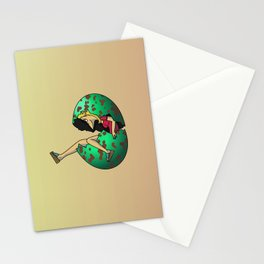 Bunny In Egg Stationery Cards