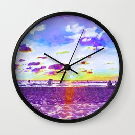 Come Out Of Your Shell Wall Clock
