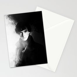 AMAZING SHERLOCK - BLACK & WHITE Stationery Cards