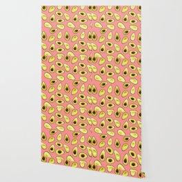 Avocados - Patterned Wallpaper