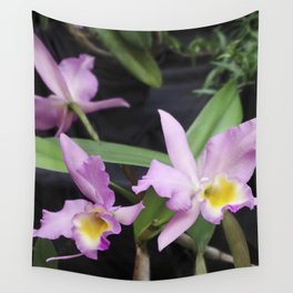 Cattleya Horace Maxima Orchid Wall Tapestry