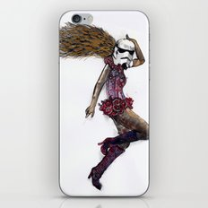 Stormtrooper girl iPhone & iPod Skin