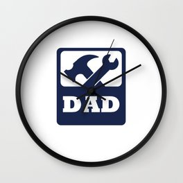 Dad - Father's Day Gift Wall Clock