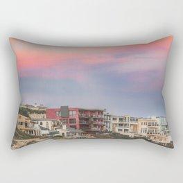 Orange and Purple Skies Rectangular Pillow