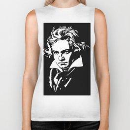 Ludwig van Beethoven (1770-1827) Biker Tank