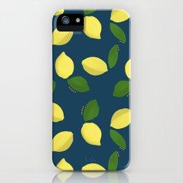 Acrylic Lemons iPhone Case