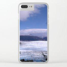 Grey Glacier Clear iPhone Case