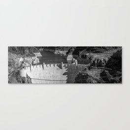 Hoover Dam - Panorama Canvas Print