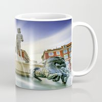 apollo Mugs featuring Oh Apollo! by ExperienceTheFrenchRiviera