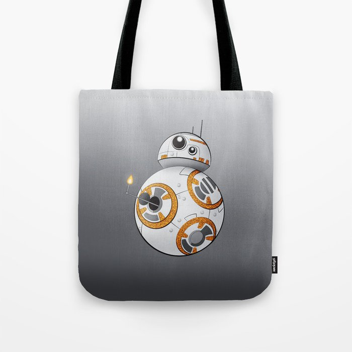 War in the Stars -- BB-8 Tote Bag