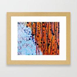 Koi Fire Framed Art Print