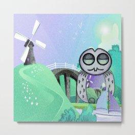 Land Of Owl Metal Print