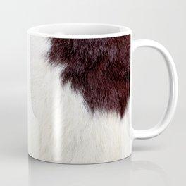 Cowhide Fur Coffee Mug