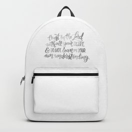 Proverbs Three Five Backpack