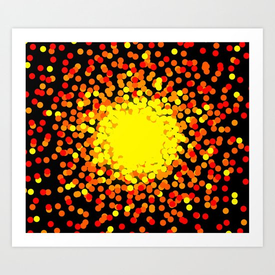Explosive Art Print