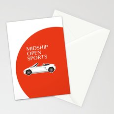 Midship Open Sports Stationery Cards