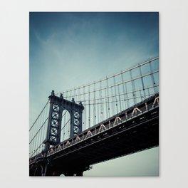 Moody Manhattan Canvas Print