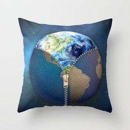 New World Throw Pillow
