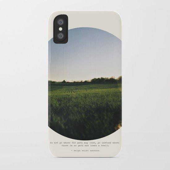 Go Instead iPhone Case