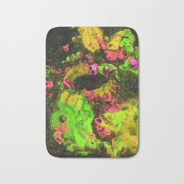 Rasta River Flow (Alcohol Inks Series 06) Bath Mat