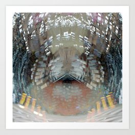 Hurtling in a void despite obstinate machinations, 1. Art Print